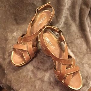 CORDANI Leather Platforms made in Italy Si…